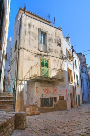 Alleyway. Conversano. Puglia. Italy. Stock Photo - 21807788