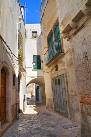 Alleyway. Conversano. Puglia. Italy.  Stock Photo - 21807791