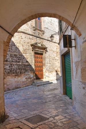 Alleyway. Conversano. Puglia. Italy. Stock Photo - 21807808