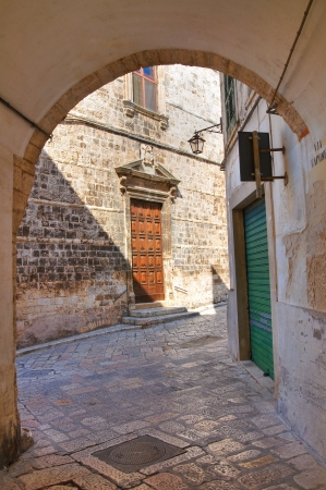 Alleyway. Conversano. Puglia. Italy.  Stock Photo - 21807808