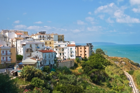 Panoramic view of Rodi Garganico. Puglia. Italy. Stock Photo - 21980224