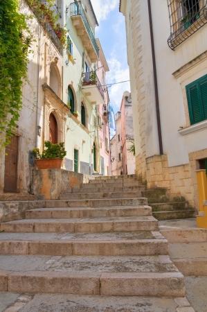 rodi garganico: Alleyway in Puglia. Italy.