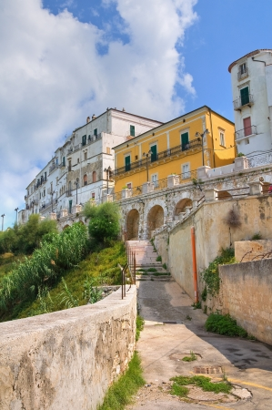 Panoramic view of Rodi Garganico. Puglia. Italy. photo