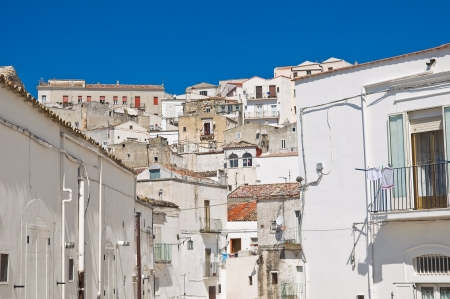 Panoramic view of Monte SantAngelo  Puglia  Italy  Stock Photo - 22054187