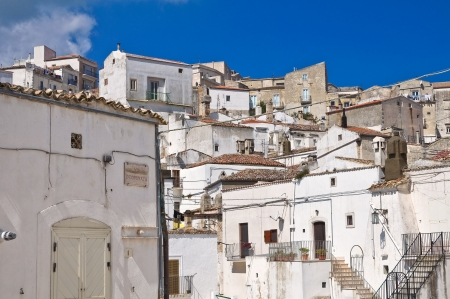monte sant angelo: Panoramic view of Monte SantAngelo  Puglia  Italy  Editorial