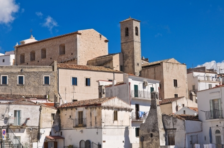 Panoramic view of Monte SantAngelo  Puglia  Italy  Stock Photo - 22096865