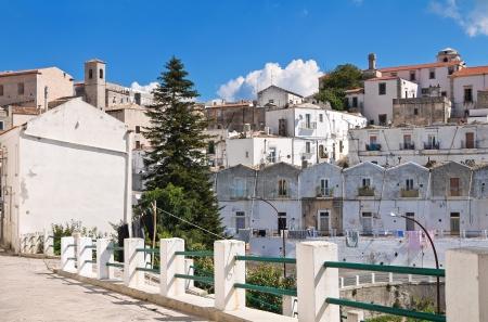 Panoramic view of Monte SantAngelo  Puglia  Italy Stock Photo - 22096866