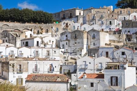 Panoramic view of Monte SantAngelo  Puglia  Italy  Stock Photo - 22096882