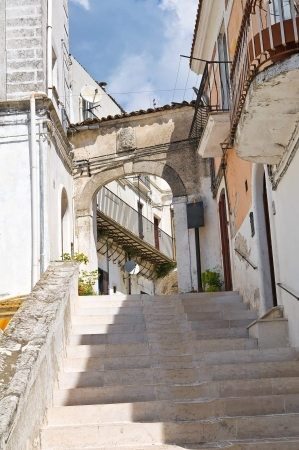 Alleyway. Monte Sant'Angelo. Puglia. Italy. Stock Photo - 22096917