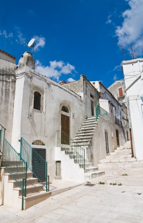monte santangelo: Alleyway. Monte SantAngelo. Puglia. Italy.