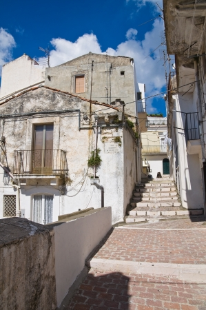 Alleyway  Monte SantAngelo  Puglia  Italy  Stock Photo - 22097076