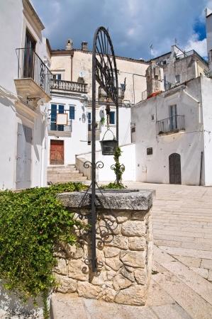 Alleyway. Monte Sant'Angelo. Puglia. Italy. Stock Photo - 22097080
