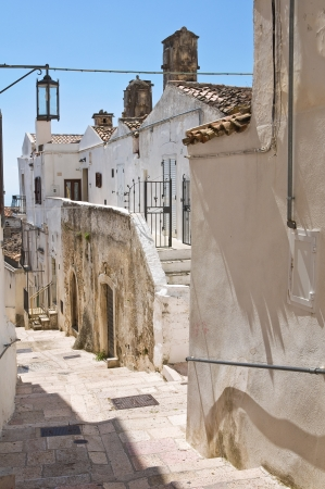 Alleyway. Monte Sant'Angelo. Puglia. Italy. Stock Photo - 22097084
