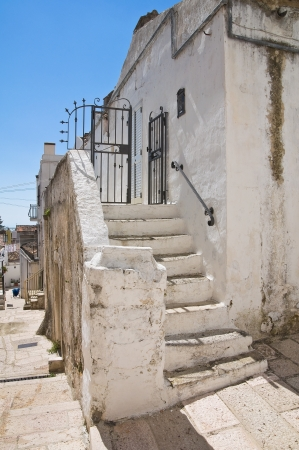 Alleyway  Monte SantAngelo  Puglia  Italy  Stock Photo - 22097083