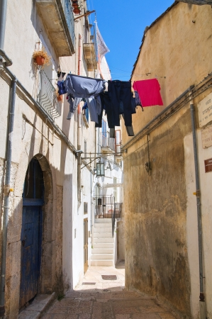 Alleyway  Monte SantAngelo  Puglia  Italy  Stock Photo - 22097085