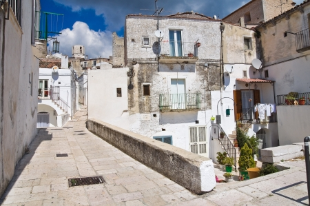 Alleyway  Monte SantAngelo  Puglia  Italy Stock Photo - 22097086