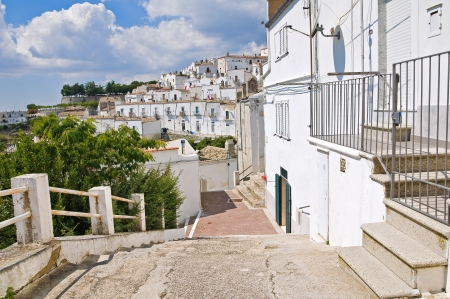 Alleyway  Monte SantAngelo  Puglia  Italy  Stock Photo - 22097089
