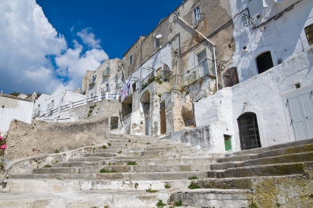 Alleyway  Monte SantAngelo  Puglia  Italy  Stock Photo - 22127663