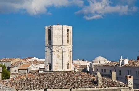 Panoramic view of Monte SantAngelo  Puglia  Italy Stock Photo - 22127676
