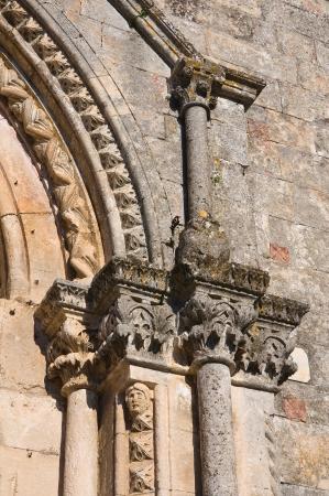 monte sant angelo: Church of St  Benedetto  Monte Sant Angelo  Puglia  Italy  Stock Photo