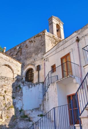 monte sant angelo: Church of St  Salvatore  Monte Sant Angelo  Puglia  Italy