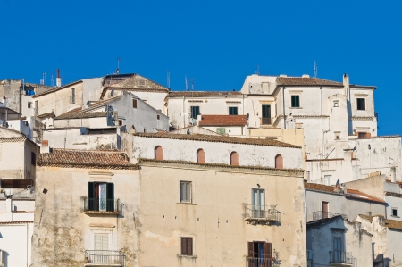 Panoramic view of Rodi Garganico  Puglia  Italy Stock Photo - 22154490