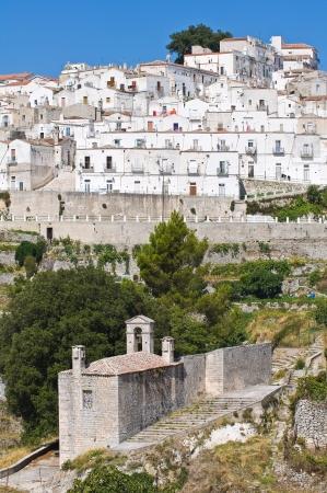 Panoramic view of Monte Sant'Angelo. Puglia. Italy. Stock Photo - 22154453