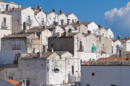 Panoramic view of Monte Sant'Angelo. Puglia. Italy. Stock Photo - 22153596