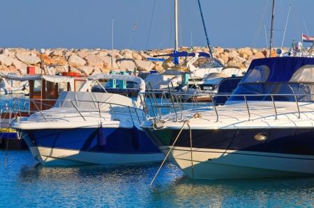 rodi: Panoramic view of Rodi Garganico. Puglia. Italy.  Editorial