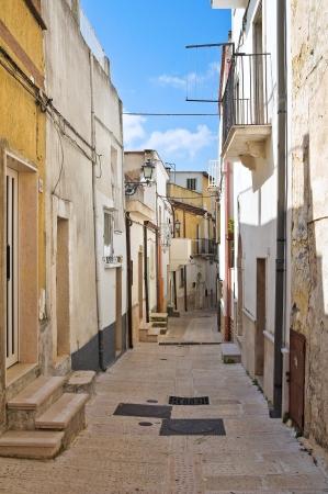 puglia: Alleyway. Ischitella. Puglia. Italy.  Stock Photo
