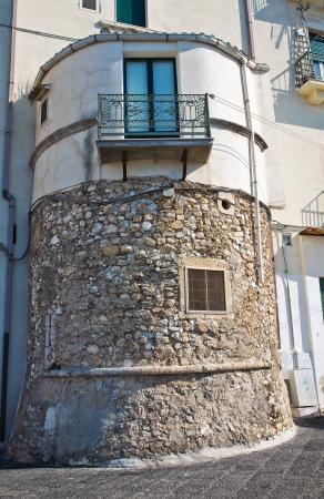 rodi garganico: City walls. Rodi Garganico. Puglia. Italy. Editorial