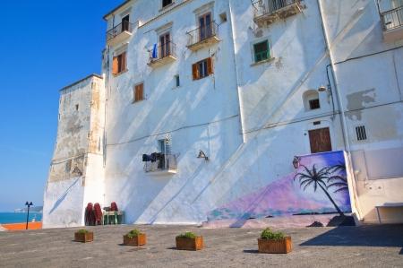 rodi: Alleyway. Rodi Garganico. Puglia. Italy. Editorial