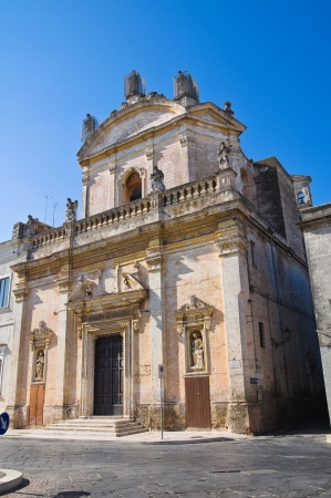 Church of Madonna del Carmine  Manduria  Puglia  Italy  photo