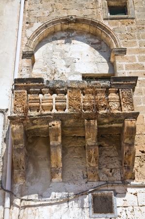 Historical palace  Maruggio  Puglia  Italy  photo