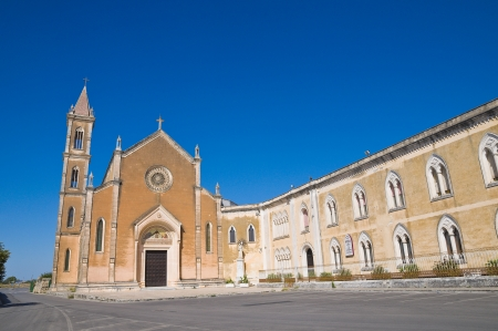 Church of St. Antonio. Manduria. Puglia. Italy. photo
