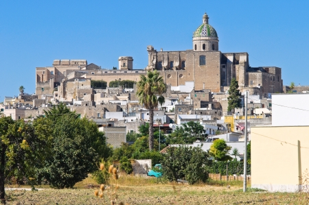 Panoramic view of Oria. Puglia. Italy. photo