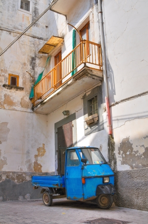 Alleyway. Rodi Garganico. Puglia. Italy.  photo