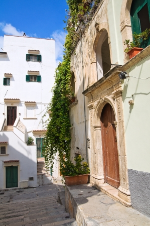 Alleyway. Rodi Garganico. Puglia. Italy.  Stock Photo - 22354618