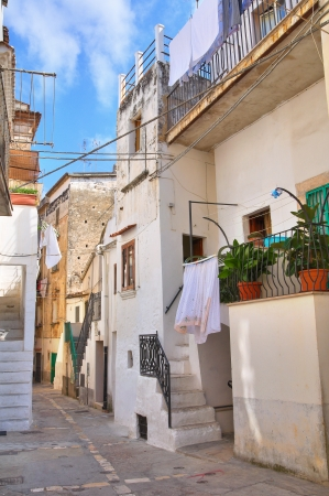 Alleyway. Rodi Garganico. Puglia. Italy.  Stock Photo - 22354622