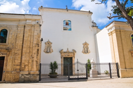 rodi: Church of Madonna della Libera  Rodi Garganico  Puglia  Italy
