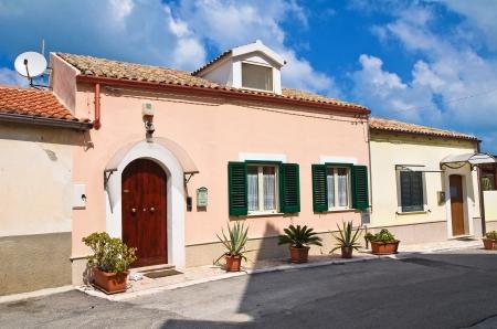rodi garganico: Alleyway  Rodi Garganico  Puglia  Italy
