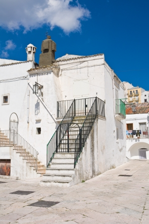 Alleyway  Monte SantAngelo  Puglia  Italy  Stock Photo - 22354658