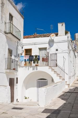Alleyway  Monte SantAngelo  Puglia  Italy  Stock Photo - 22354660