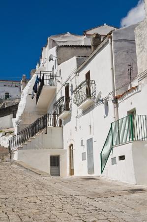 Alleyway  Monte SantAngelo  Puglia  Italy Stock Photo - 22354661