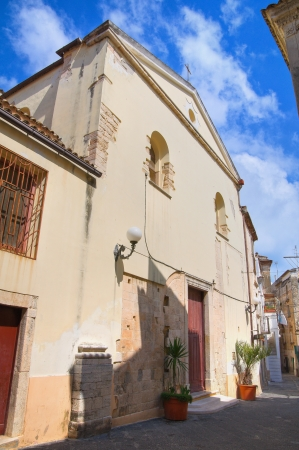 rodi: Church of St Pietro  Rodi Garganico  Puglia  Italy