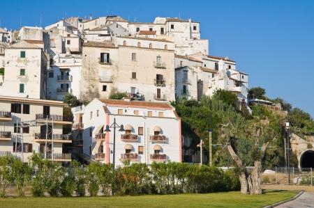 Panoramic view of Rodi Garganico  Puglia  Italy Stock Photo - 22354691