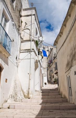 Alleyway  Monte SantAngelo  Puglia  Italy Stock Photo - 22354700