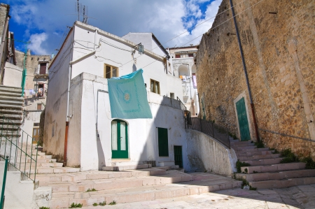 Alleyway  Monte SantAngelo  Puglia  Italy Stock Photo - 22354701