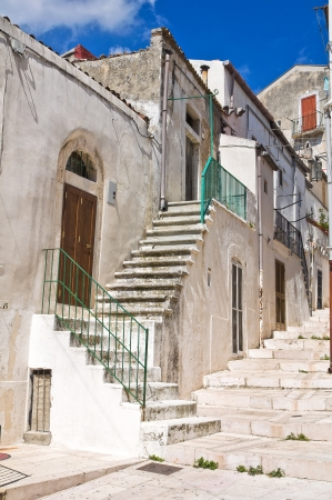 Alleyway  Monte SantAngelo  Puglia  Italy Stock Photo - 22354702