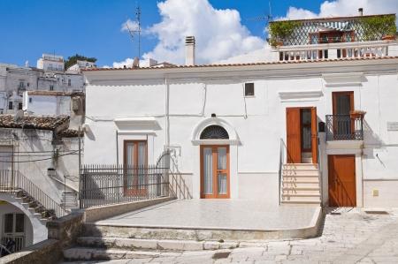 Alleyway  Monte SantAngelo  Puglia  Italy Stock Photo - 22354703
